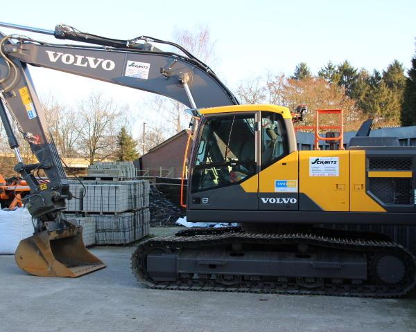 Volvo Kettenbagger EC220EL